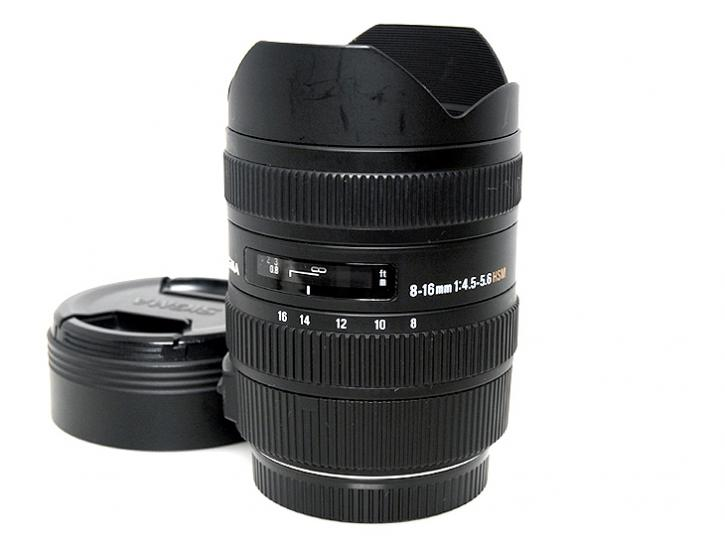 8-16mm F4.5-5.6 DC HSM (キヤノン用)