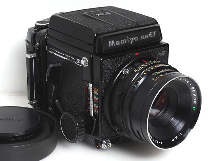 RB67 ProS 127mm F3.8付