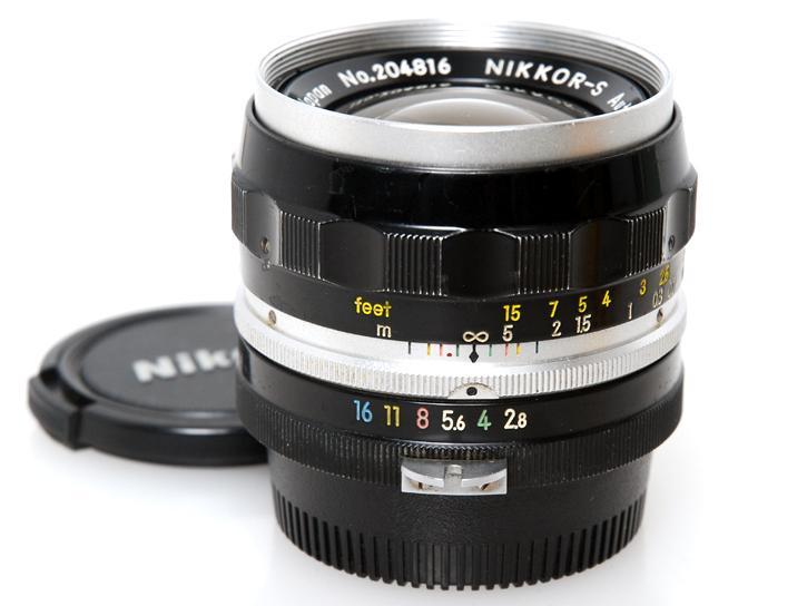NIKKOR-S Auto  35mm F2.8 (非Ai)