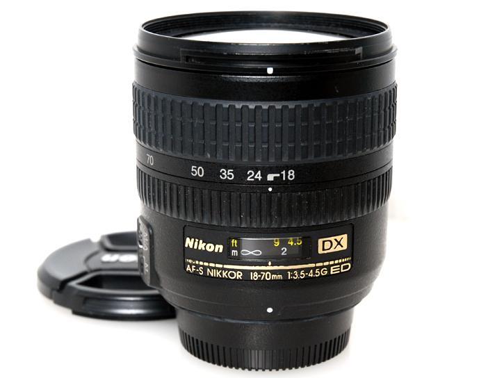 AF-S DX Zoom-Nikkor 18-70mm f/3.5-4.5G IF-ED