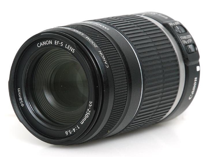 EF-S55-250mm F4-5.6 IS