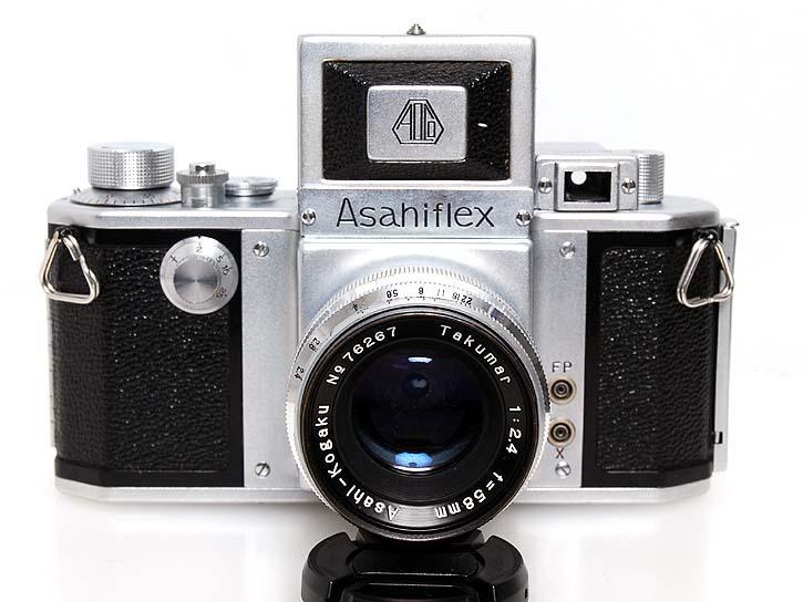 アサヒフレックスIIA タクマー58mmF2.4