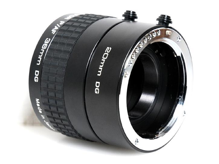 エクステンションチューブ 20mm・36mm (ペンタックスkマウント)