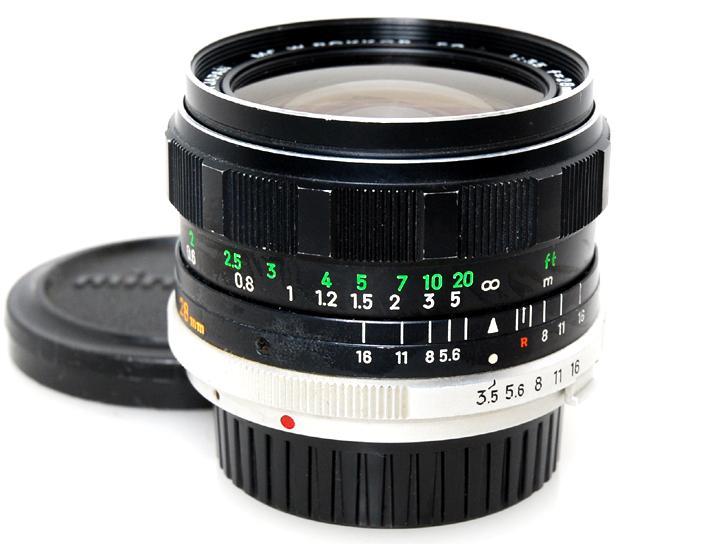 MC W・ロッコールSG 28mm F3.5