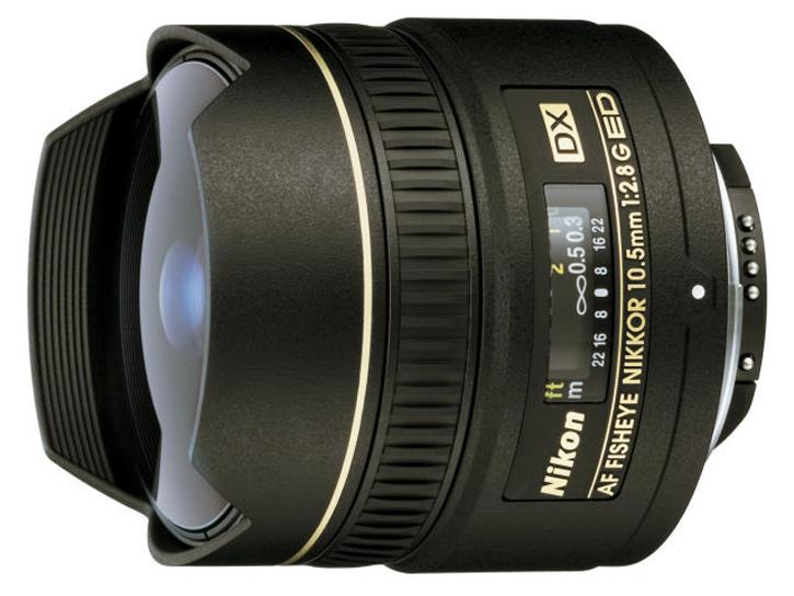 AF DX フィッシュアイ Nikkor ED 10.5mm F2.8G 新品