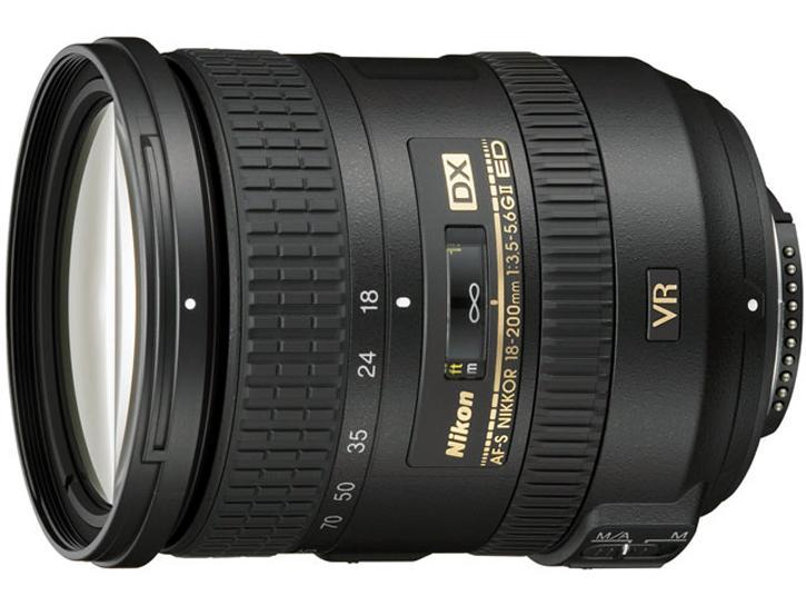 AF-S DX NIKKOR 18-200mm F3.5-5.6G ED VR II 新品