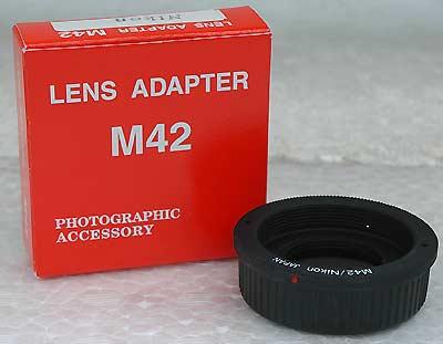 M42-ニコンマウントアダプター