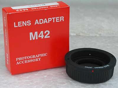 M42-Nikonマウントアダプター