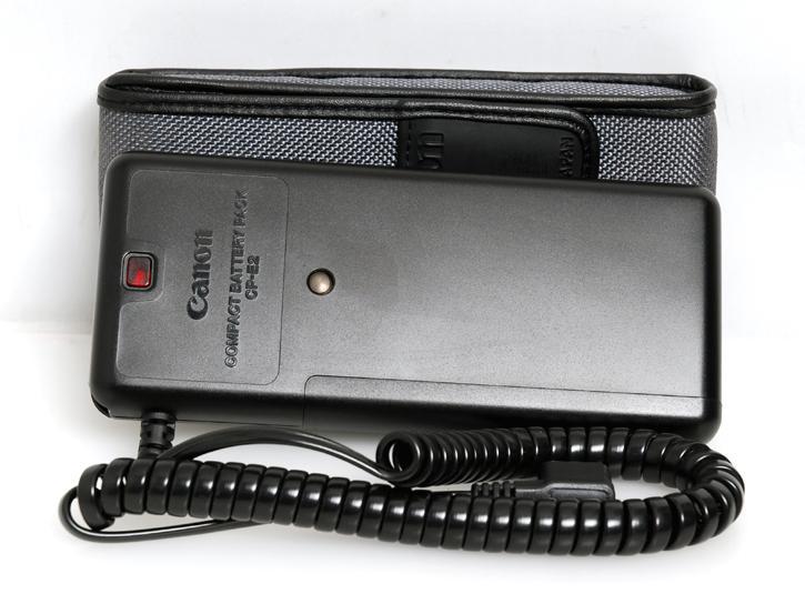 コンパクトバッテリーパック CP-E2(580EX・550EX・540EZ・430EZ・MR-14EX・MT-24EX対応)