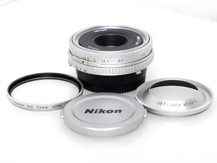 Ai Nikkor 45mm F2.8P