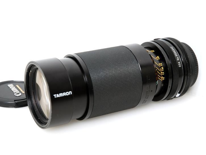 SP80-210mm F3.8-4 CF TERE MACRO キヤノンFD用