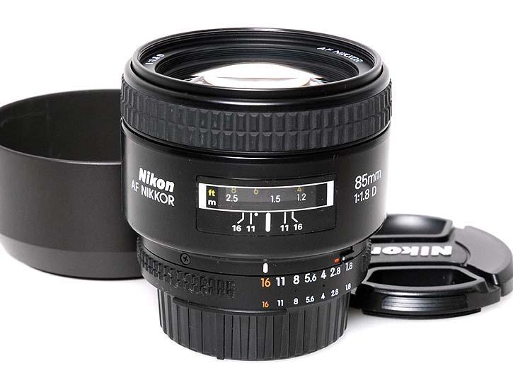 Ai AF Nikkor 85mm f/1.8D