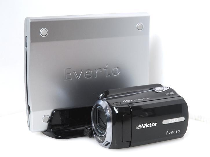 Victer Everio GZ-MG760-B 専用DVDドライブ付