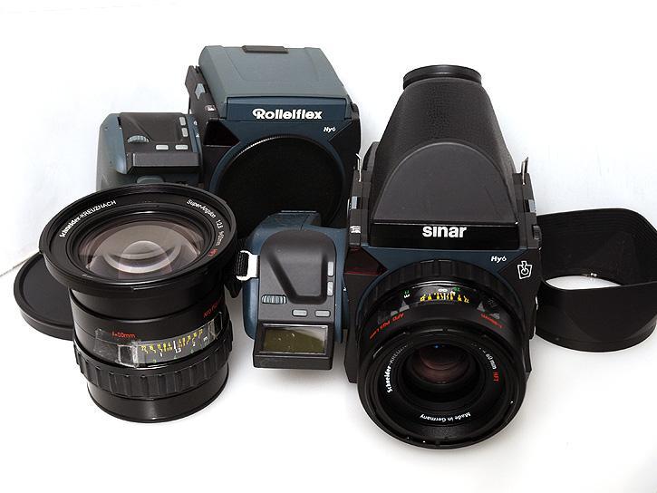 Sinar Hy6-s65r/ローライHy6 /Xenotar80mmF2.8HFT /スーパーアンギュロン AFD50mm F2.8