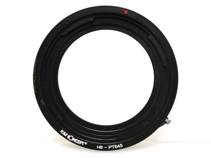 K&F Concept レンズマウントアダプター HB-PT645