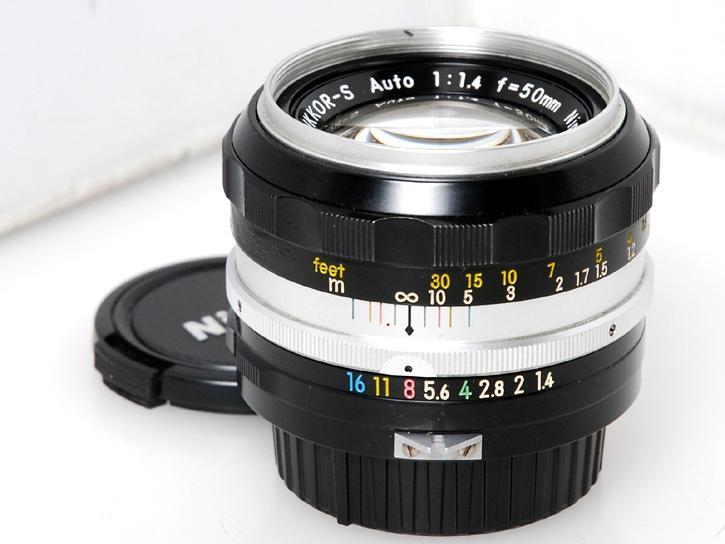 オートニッコール 50mm F1.4(非AI)