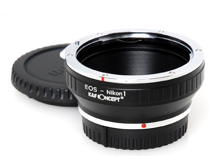 EOSレンズ-Nikon1ボディ アダプター