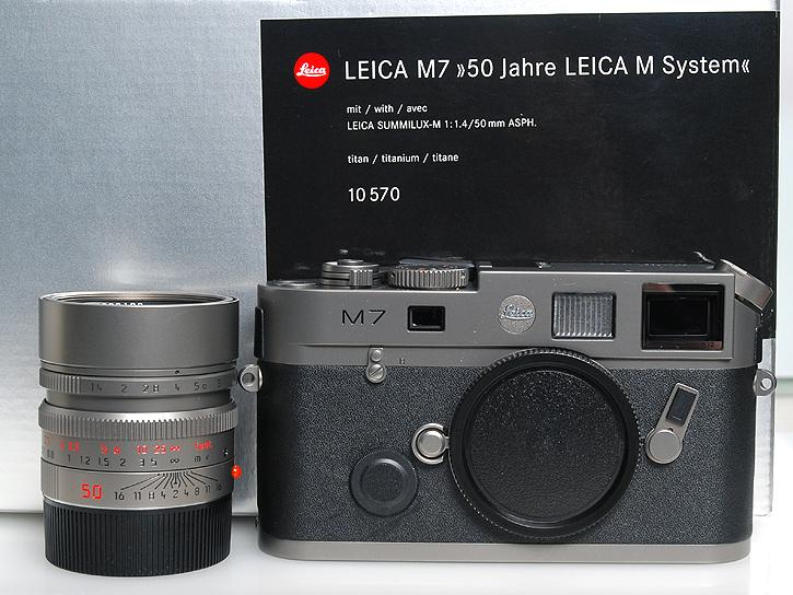 LEICA M7 チタニウム ライカM型50周年記念モデル