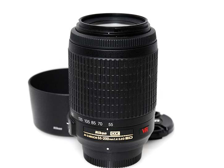 AF-S DX VR Zoom-Nikkor 55-200mm f/4-5.6G IF-ED