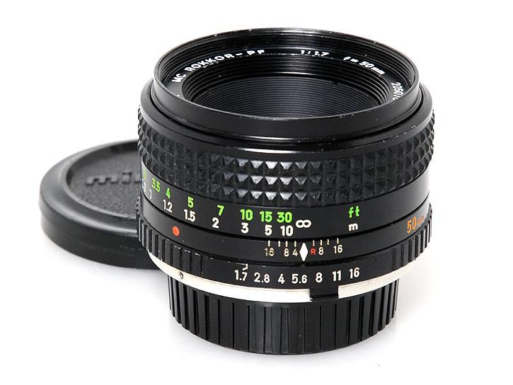MCロッコールPF 50mm F1.7