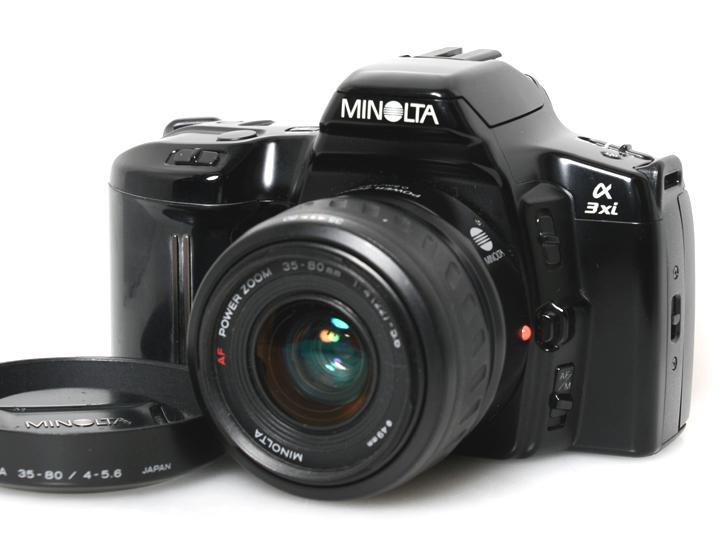 α3xi MINOLTA AF POWERZOOM 35-80mm F4-5.6